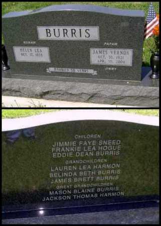"BURRIS, JAMES VERNON ""JIMMY"" - Lawrence County, Arkansas | JAMES VERNON ""JIMMY"" BURRIS - Arkansas Gravestone Photos"