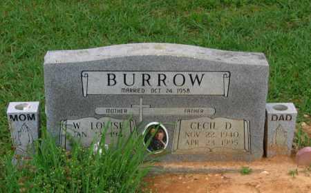 BURROW, CECIL DEAN - Lawrence County, Arkansas   CECIL DEAN BURROW - Arkansas Gravestone Photos