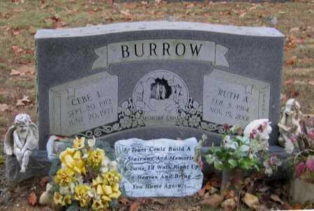 BURROW, RUTH A. - Lawrence County, Arkansas | RUTH A. BURROW - Arkansas Gravestone Photos