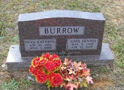 "NUNNALLY BURROW, NEVA KATHRYN ""KAY"" - Lawrence County, Arkansas | NEVA KATHRYN ""KAY"" NUNNALLY BURROW - Arkansas Gravestone Photos"
