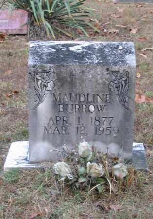 BURROW, MAUDLINE - Lawrence County, Arkansas | MAUDLINE BURROW - Arkansas Gravestone Photos