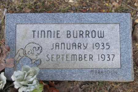 BURROW, TINNIE - Lawrence County, Arkansas | TINNIE BURROW - Arkansas Gravestone Photos