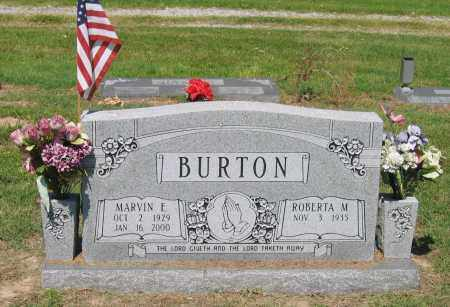 BURTON, MARVIN EDWARD - Lawrence County, Arkansas | MARVIN EDWARD BURTON - Arkansas Gravestone Photos