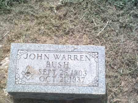 BUSH, JOHN WARREN - Lawrence County, Arkansas   JOHN WARREN BUSH - Arkansas Gravestone Photos