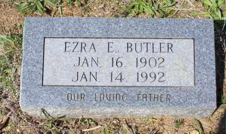 BUTLER, EZRA EUGENE - Lawrence County, Arkansas   EZRA EUGENE BUTLER - Arkansas Gravestone Photos