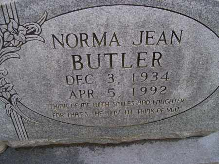 BUTLER, NORMA JEAN - Lawrence County, Arkansas | NORMA JEAN BUTLER - Arkansas Gravestone Photos