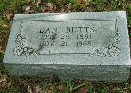"BUTTS, DANIEL WEBSTER ""DAN W."" - Lawrence County, Arkansas 
