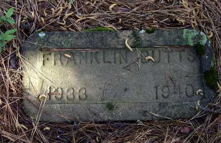 BUTTS (2), FRANKLIN D. - Lawrence County, Arkansas   FRANKLIN D. BUTTS (2) - Arkansas Gravestone Photos