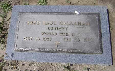 CALLAHAN  (VETERAN WWII), FRED PAUL - Lawrence County, Arkansas | FRED PAUL CALLAHAN  (VETERAN WWII) - Arkansas Gravestone Photos