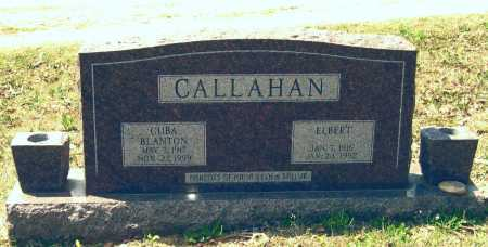 CALLAHAN, ELBERT - Lawrence County, Arkansas | ELBERT CALLAHAN - Arkansas Gravestone Photos
