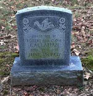 CALLAHAN, INFANT SON - Lawrence County, Arkansas | INFANT SON CALLAHAN - Arkansas Gravestone Photos