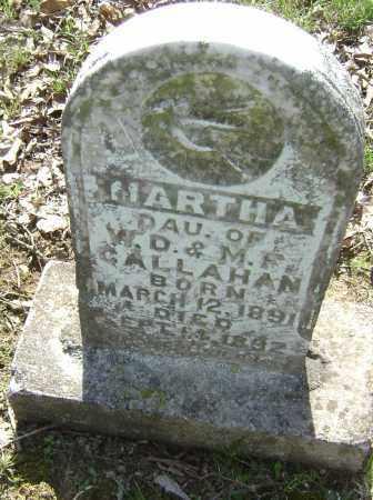 CALLAHAN, MARTHA - Lawrence County, Arkansas | MARTHA CALLAHAN - Arkansas Gravestone Photos