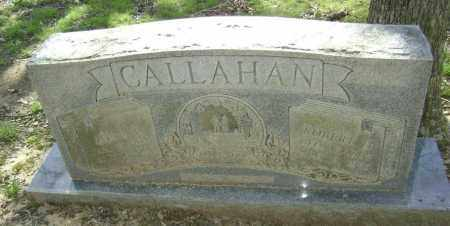 MITCHELL CALLAHAN, ZONA IVON - Lawrence County, Arkansas | ZONA IVON MITCHELL CALLAHAN - Arkansas Gravestone Photos