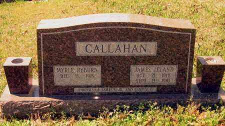 CALLAHAN, SR., JAMES LELAND - Lawrence County, Arkansas   JAMES LELAND CALLAHAN, SR. - Arkansas Gravestone Photos