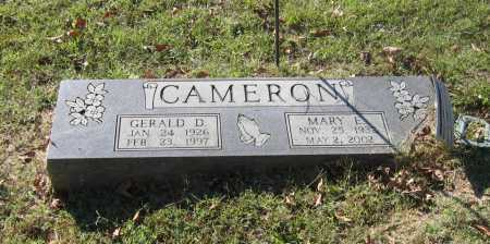 CAMERON, GERALD DEWAYNE - Lawrence County, Arkansas | GERALD DEWAYNE CAMERON - Arkansas Gravestone Photos