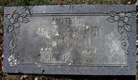 GEURIN CAMERON, OPAL IONA - Lawrence County, Arkansas | OPAL IONA GEURIN CAMERON - Arkansas Gravestone Photos