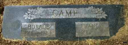 CAMP, HORACE - Lawrence County, Arkansas   HORACE CAMP - Arkansas Gravestone Photos