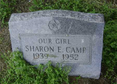 CAMP, SHARON E. - Lawrence County, Arkansas   SHARON E. CAMP - Arkansas Gravestone Photos