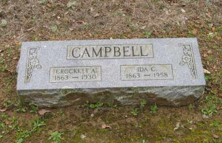 "CAMPBELL, ALEXANDER CROCKETT ""CROCK"" - Lawrence County, Arkansas | ALEXANDER CROCKETT ""CROCK"" CAMPBELL - Arkansas Gravestone Photos"