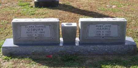 OSBURN, CLARA MCALISTER CAMPBELL HARRIS - Lawrence County, Arkansas | CLARA MCALISTER CAMPBELL HARRIS OSBURN - Arkansas Gravestone Photos