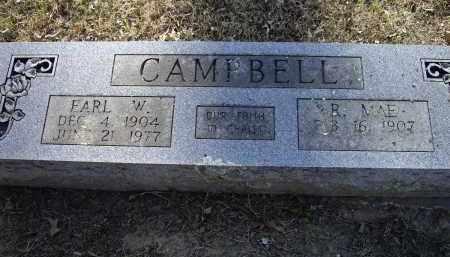 CAMPBELL, EARL W. - Lawrence County, Arkansas | EARL W. CAMPBELL - Arkansas Gravestone Photos