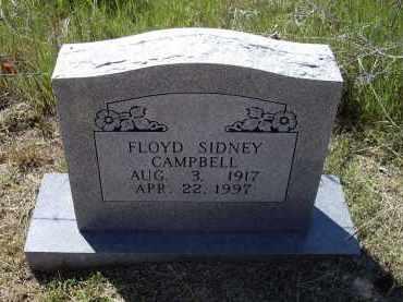 CAMPBELL (VETERAN WWII), FLOYD SIDNEY - Lawrence County, Arkansas | FLOYD SIDNEY CAMPBELL (VETERAN WWII) - Arkansas Gravestone Photos