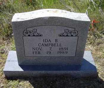 CAMPBELL, IDA - Lawrence County, Arkansas | IDA CAMPBELL - Arkansas Gravestone Photos