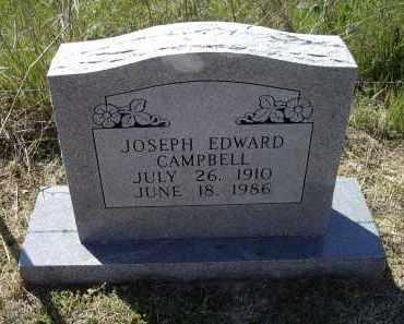 CAMPBELL (VETERAN WWII), JOSEPH EDWARD - Lawrence County, Arkansas   JOSEPH EDWARD CAMPBELL (VETERAN WWII) - Arkansas Gravestone Photos