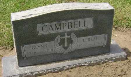 CAMPBELL, GLYNN - Lawrence County, Arkansas   GLYNN CAMPBELL - Arkansas Gravestone Photos