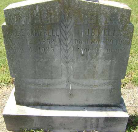 WELLS, J. B. - Lawrence County, Arkansas | J. B. WELLS - Arkansas Gravestone Photos
