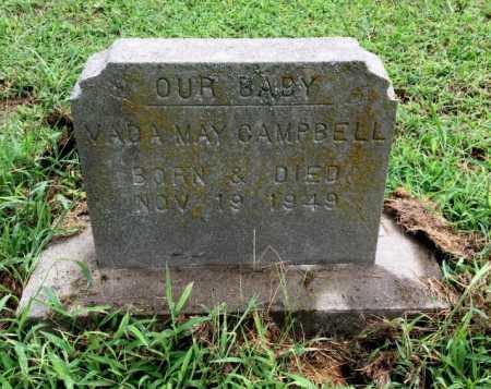 CAMPBELL, VADA MAY - Lawrence County, Arkansas | VADA MAY CAMPBELL - Arkansas Gravestone Photos