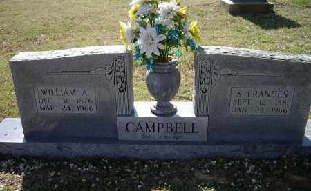 CAMPBELL, SARAH FRANCES - Lawrence County, Arkansas | SARAH FRANCES CAMPBELL - Arkansas Gravestone Photos