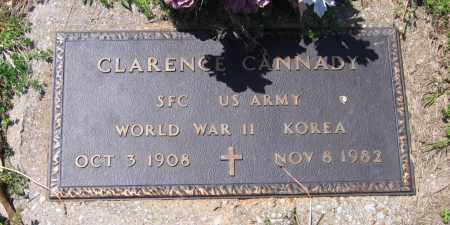 CANNADY (VETERAN 2 WARS), CLARENCE - Lawrence County, Arkansas   CLARENCE CANNADY (VETERAN 2 WARS) - Arkansas Gravestone Photos