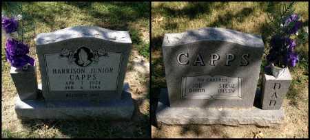 CAPPS, HARRISON JUNIOR - Lawrence County, Arkansas | HARRISON JUNIOR CAPPS - Arkansas Gravestone Photos