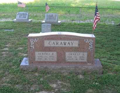 CARAWAY (VETERAN WWI), ERNEST A. - Lawrence County, Arkansas | ERNEST A. CARAWAY (VETERAN WWI) - Arkansas Gravestone Photos