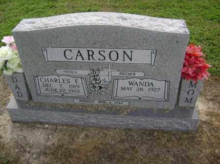 CARSON, CHARLES FRANK - Lawrence County, Arkansas | CHARLES FRANK CARSON - Arkansas Gravestone Photos