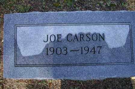 CARSON, JOE - Lawrence County, Arkansas | JOE CARSON - Arkansas Gravestone Photos