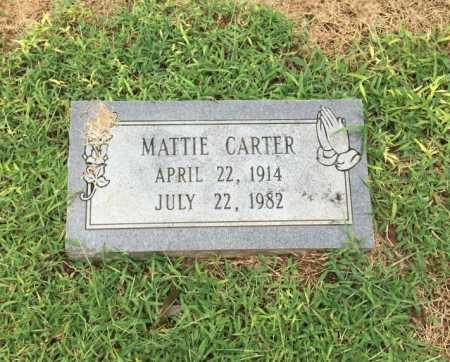 CARTER, MATTIE - Lawrence County, Arkansas | MATTIE CARTER - Arkansas Gravestone Photos