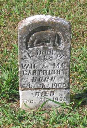 CARTRIGHT, N. L. - Lawrence County, Arkansas | N. L. CARTRIGHT - Arkansas Gravestone Photos