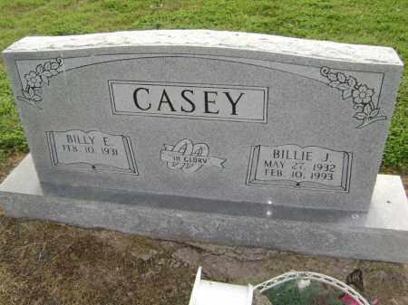 CASEY, BILLIE J. - Lawrence County, Arkansas | BILLIE J. CASEY - Arkansas Gravestone Photos
