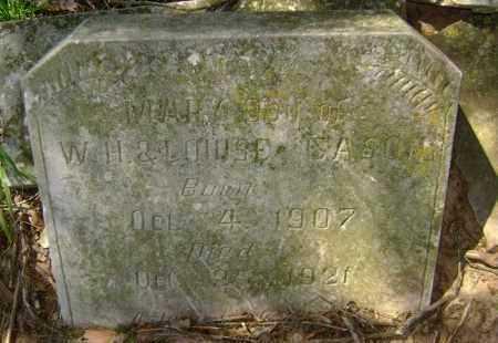 CASON, MARY - Lawrence County, Arkansas   MARY CASON - Arkansas Gravestone Photos