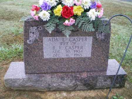 SMITH CASPER, ADA L. - Lawrence County, Arkansas | ADA L. SMITH CASPER - Arkansas Gravestone Photos