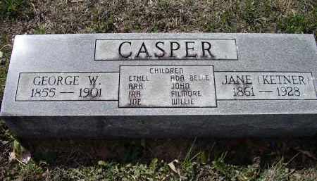CASPER, GEORGE WASHINGTON - Lawrence County, Arkansas | GEORGE WASHINGTON CASPER - Arkansas Gravestone Photos