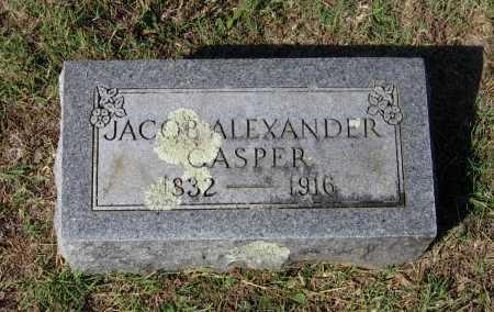 CASPER (VETERAN CSA), JACOB ALEXANDER - Lawrence County, Arkansas | JACOB ALEXANDER CASPER (VETERAN CSA) - Arkansas Gravestone Photos