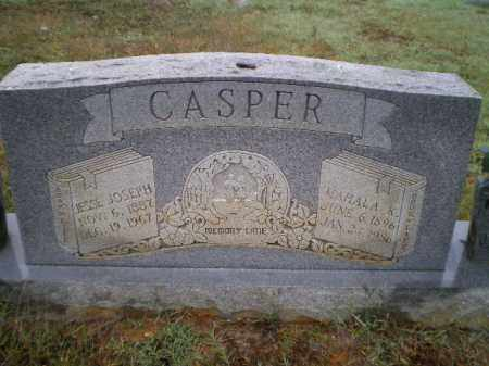 CASPER, JESSE JOSEPH - Lawrence County, Arkansas | JESSE JOSEPH CASPER - Arkansas Gravestone Photos