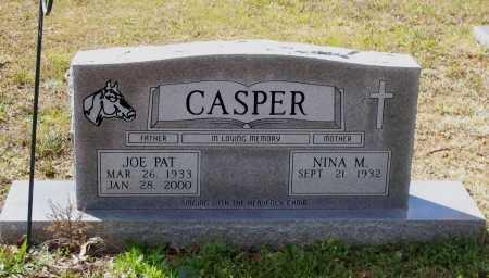 CASPER, JOE PAT - Lawrence County, Arkansas | JOE PAT CASPER - Arkansas Gravestone Photos