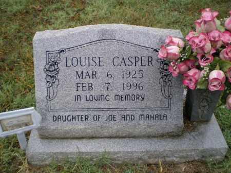 CASPER, LOUISE DELMA - Lawrence County, Arkansas   LOUISE DELMA CASPER - Arkansas Gravestone Photos