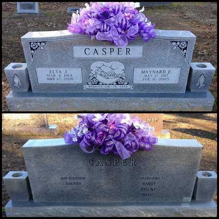 CASPER, MAYNARD ELBERT - Lawrence County, Arkansas   MAYNARD ELBERT CASPER - Arkansas Gravestone Photos