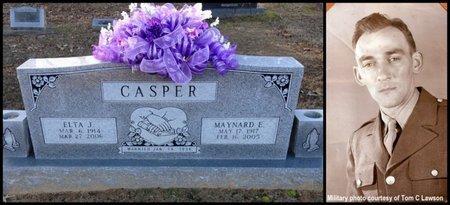 CASPER (VETERAN WWII), MAYNARD ELBERT - Lawrence County, Arkansas   MAYNARD ELBERT CASPER (VETERAN WWII) - Arkansas Gravestone Photos