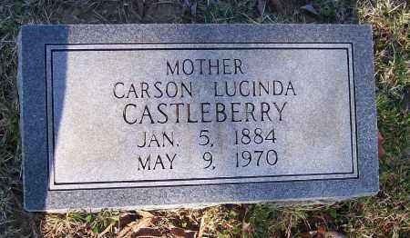 SMITH CASTLEBERRY, CARSON LUCINDA - Lawrence County, Arkansas | CARSON LUCINDA SMITH CASTLEBERRY - Arkansas Gravestone Photos
